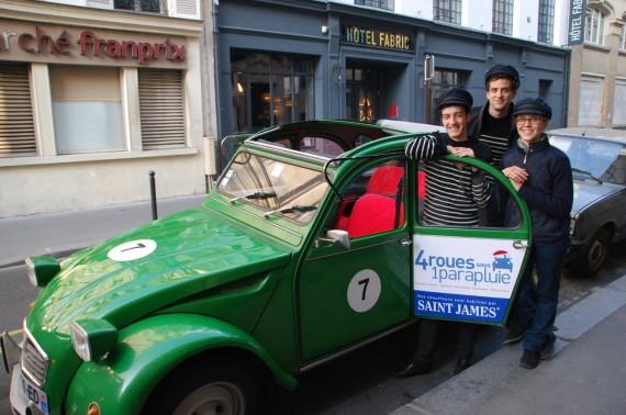 Balade en 2CV Paris 02