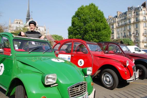 Balade en 2CV Paris 15