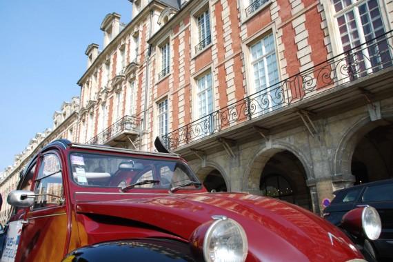 Balade en 2CV Paris 16