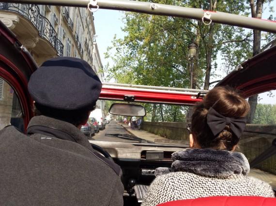 Balade en 2CV Paris 25