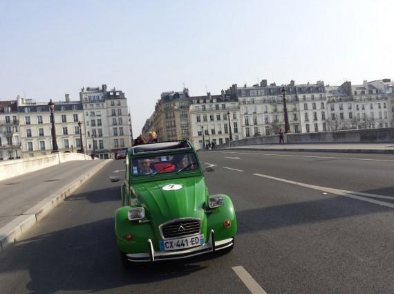 Balade en 2CV Paris 26