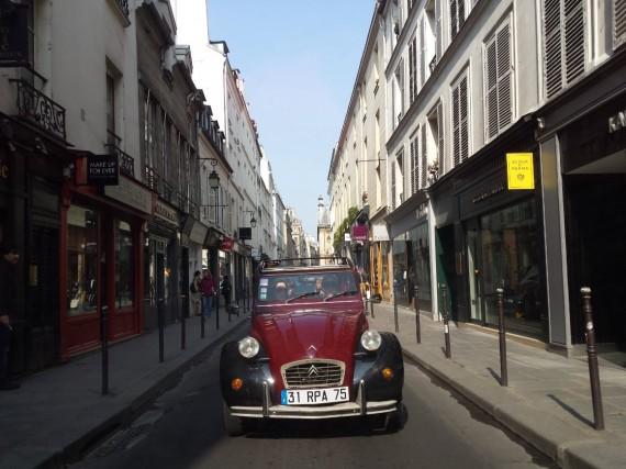 Balade en 2CV Paris 29