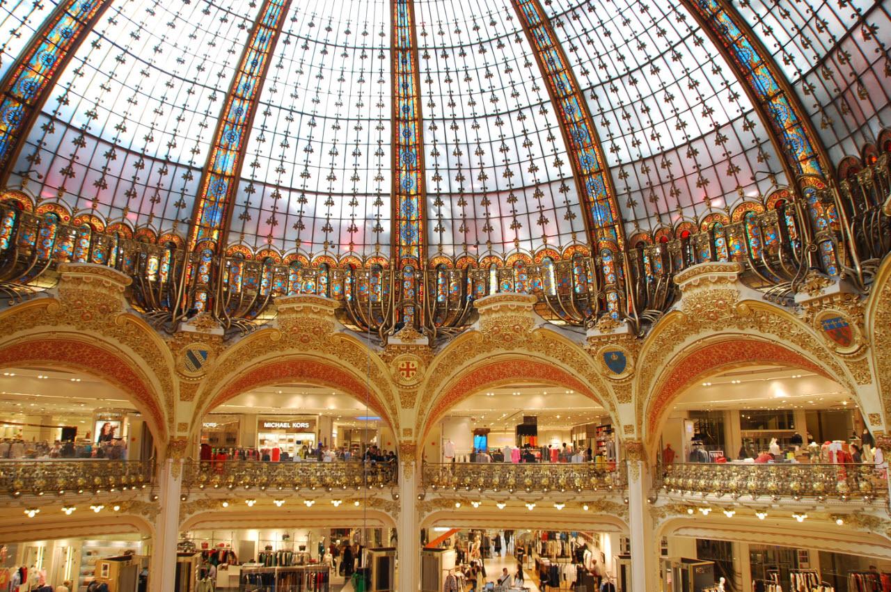 Magasin Trois Fois Rien Paris 14 visite des galeries lafayette paris   inspiration for travellers