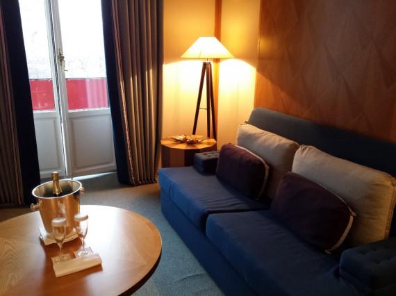 Nuit à l'hôtel Le Richemond 04