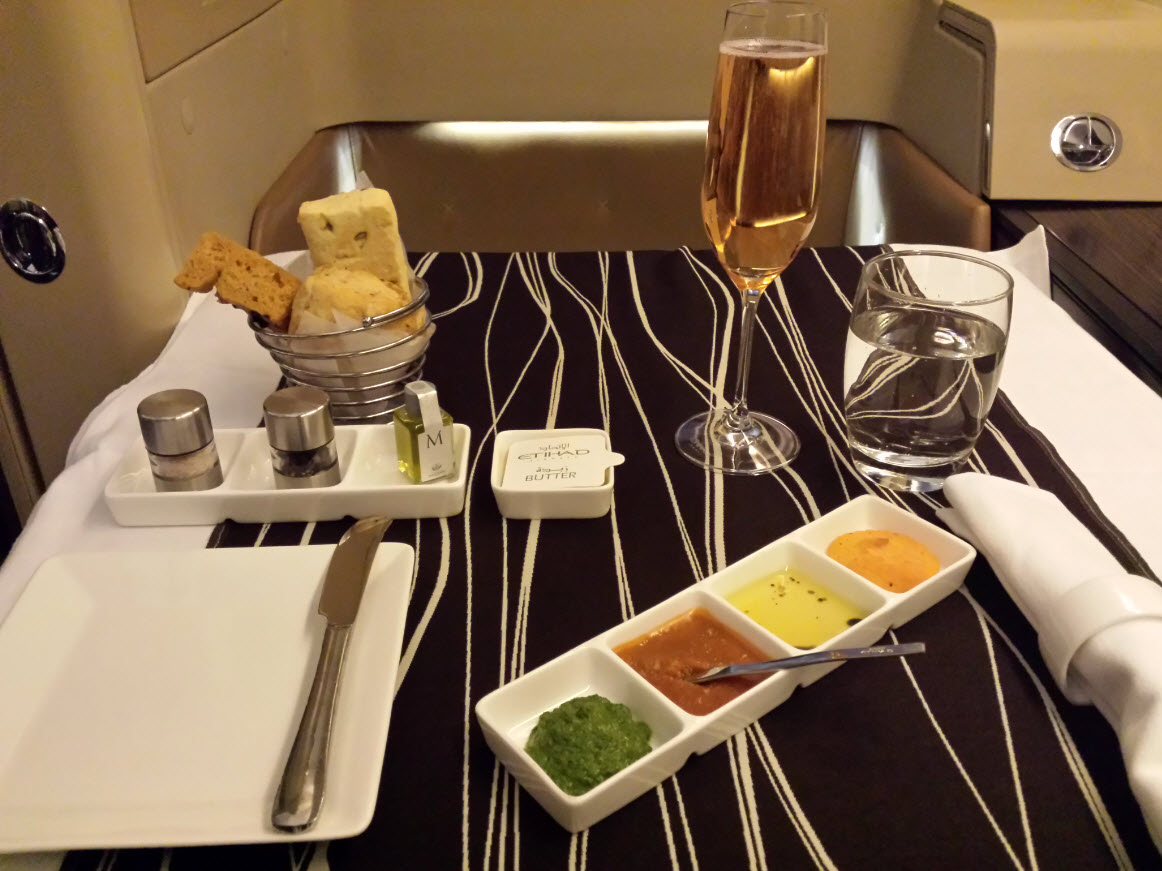 Diner Diamond First Class Etihad