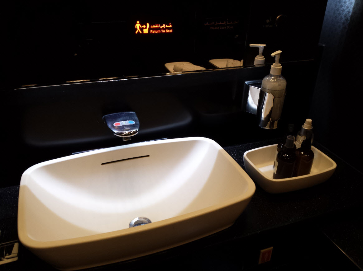 Toilettes Etihad