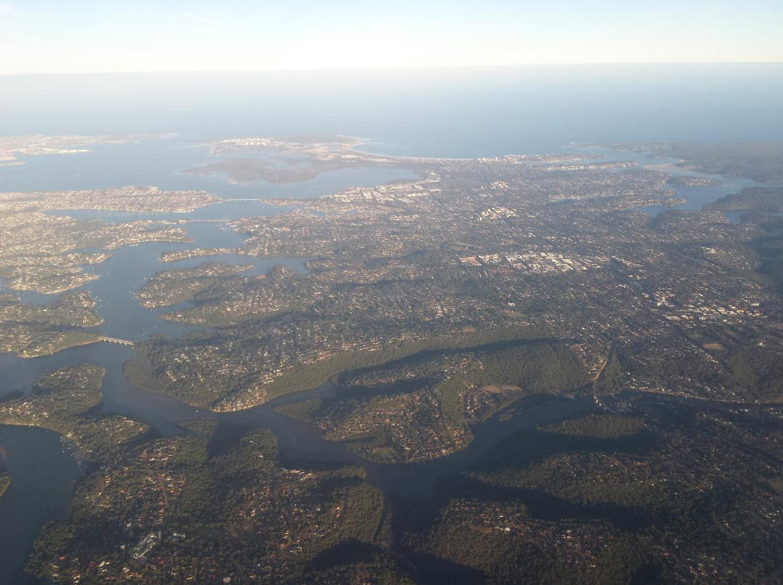 Arrivee sur Sydney
