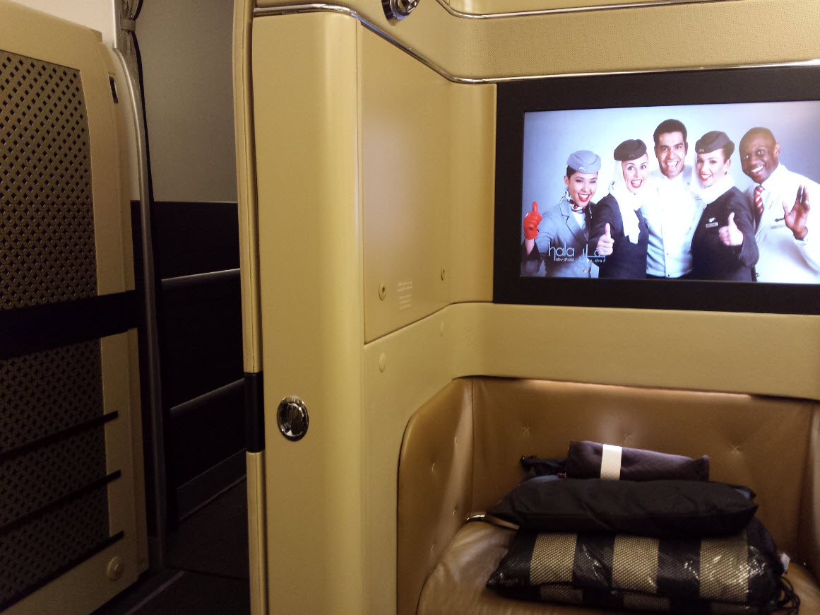 Cabine individuelle First Class