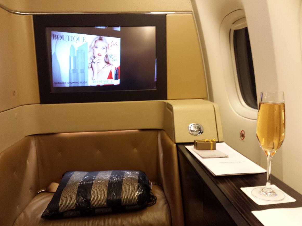 Boarding avec Champagne