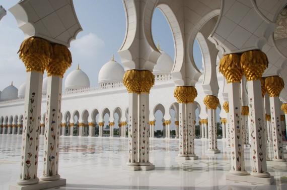 Grand Mosque Abu Dhabi 10