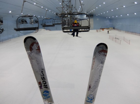 Skiing in Dubai 07