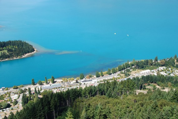 Queenstown from the top ¨17