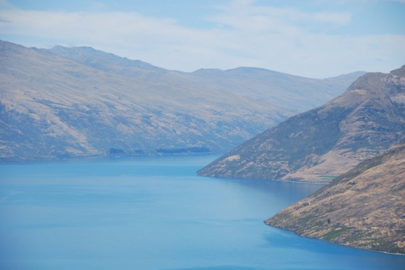 Queenstown from the top 14