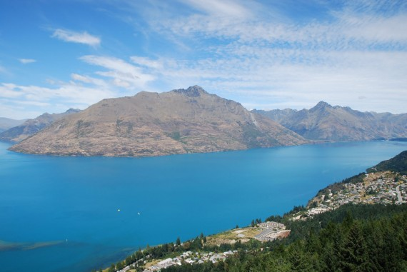 Queenstown from the top 16