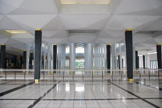 Masjid Negara National Mosque Kuala Lumpur (9)
