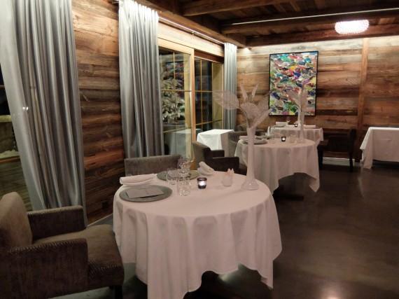 Diner étoilé Hostellerie Pas de l'Ours (18)
