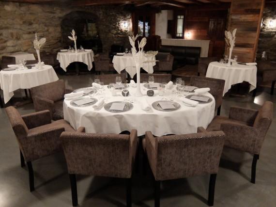 Diner étoilé Hostellerie Pas de l'Ours (21)
