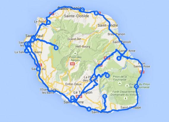 Itinéraire 1 semaine à La Réunion (36)