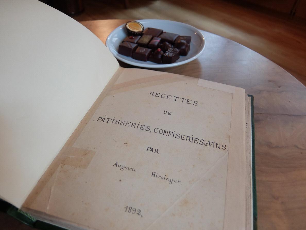 Le tresor Hirsinger le livre de recettes