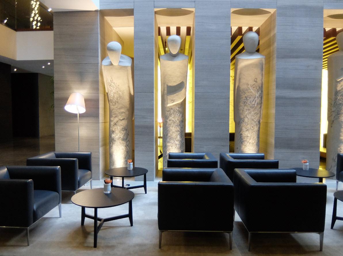 Lobby InterContinental Dubai Marina