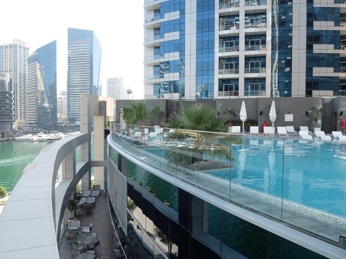 Piscine Dubai Marina