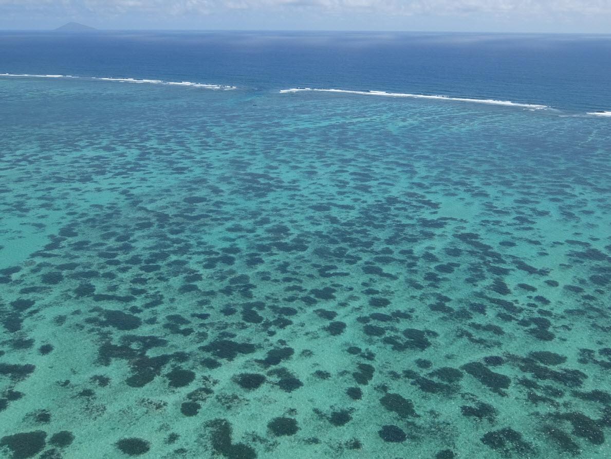 Beaute du lagon Ile Maurice
