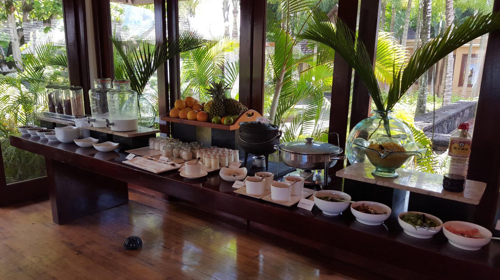Petit-déjeuner Shanti