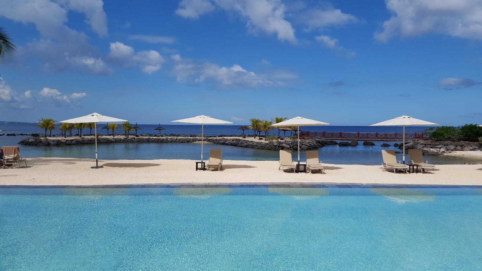 Piscine de l'InterContinental Mauritius
