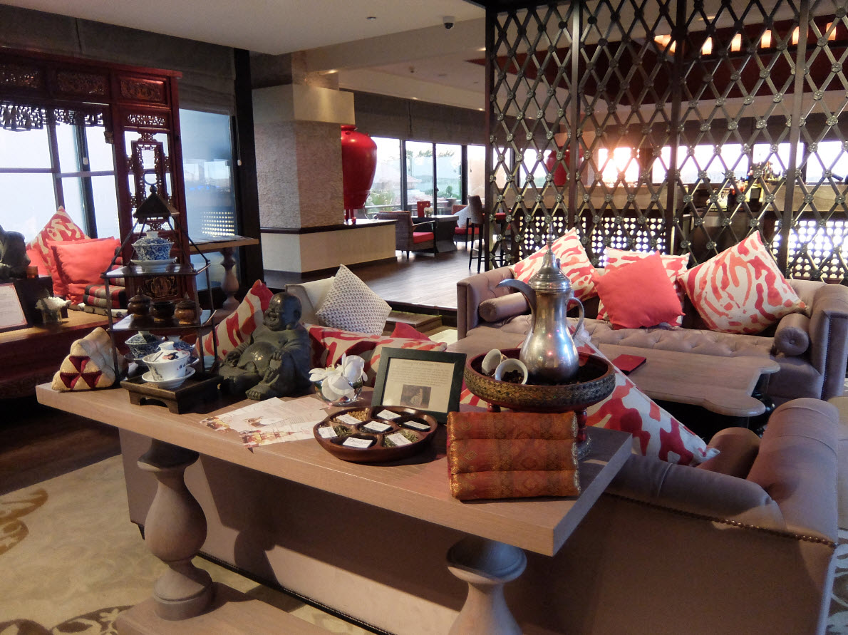 Interieur du Lotus Lounge