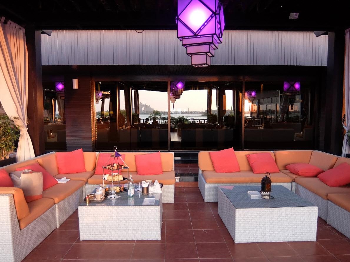 Terrasse exterieur Lotus Lounge