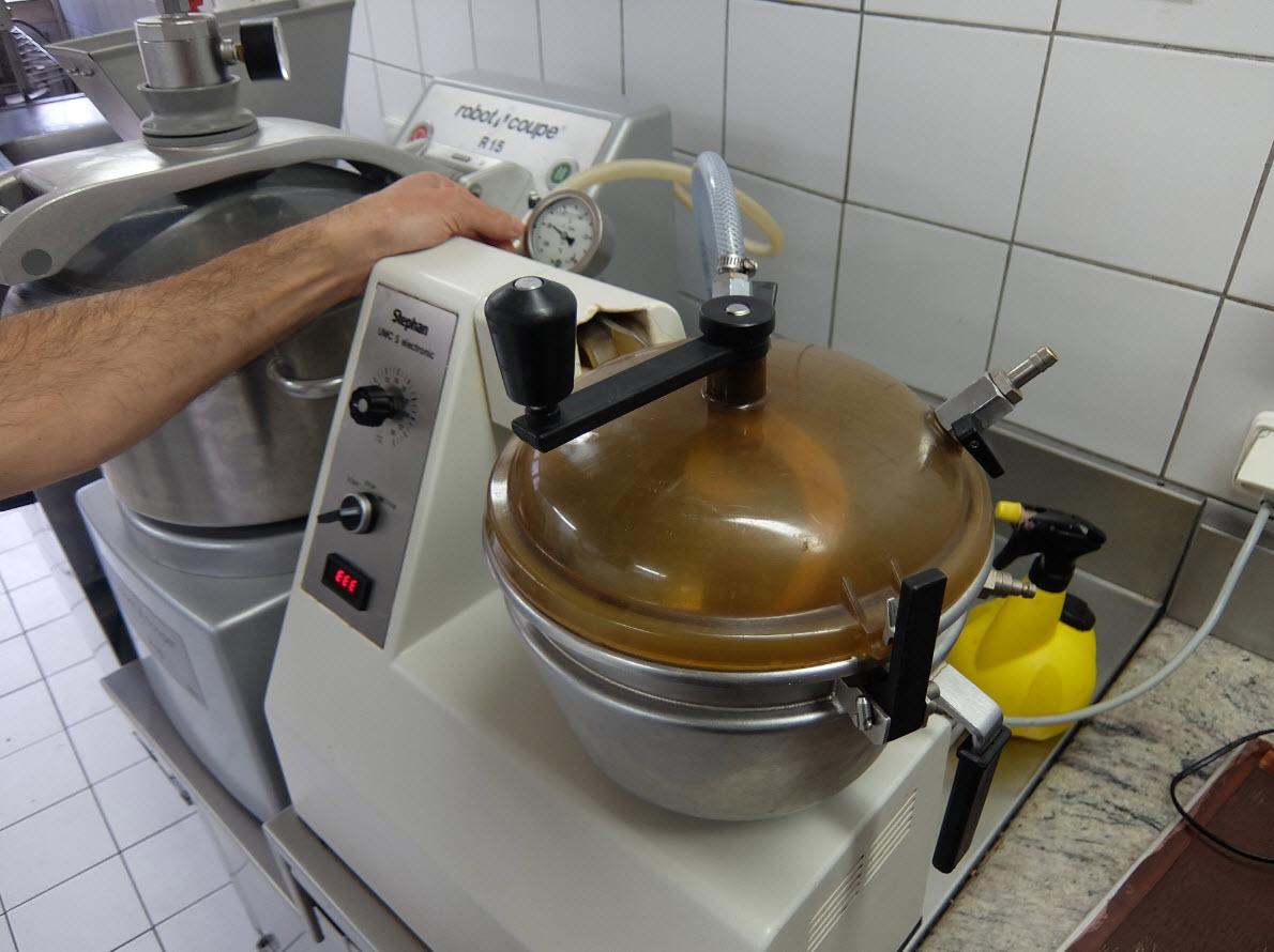 Fabrication de la ganache