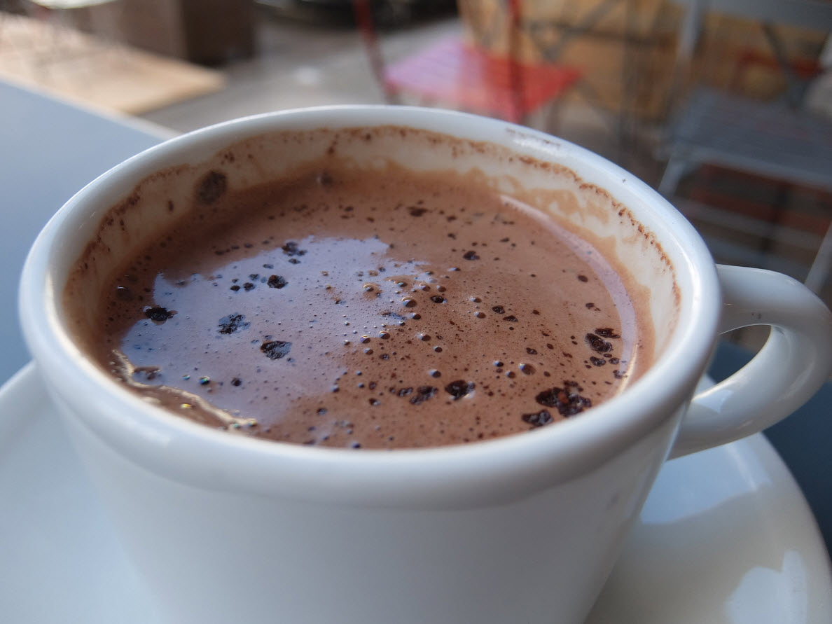 Un vrai chocolat chaud