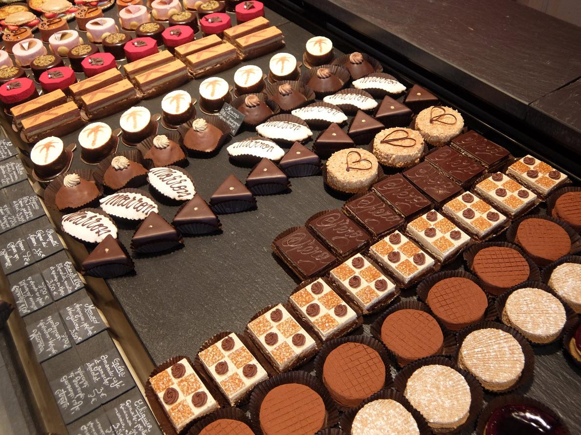 Chocolats en boutique