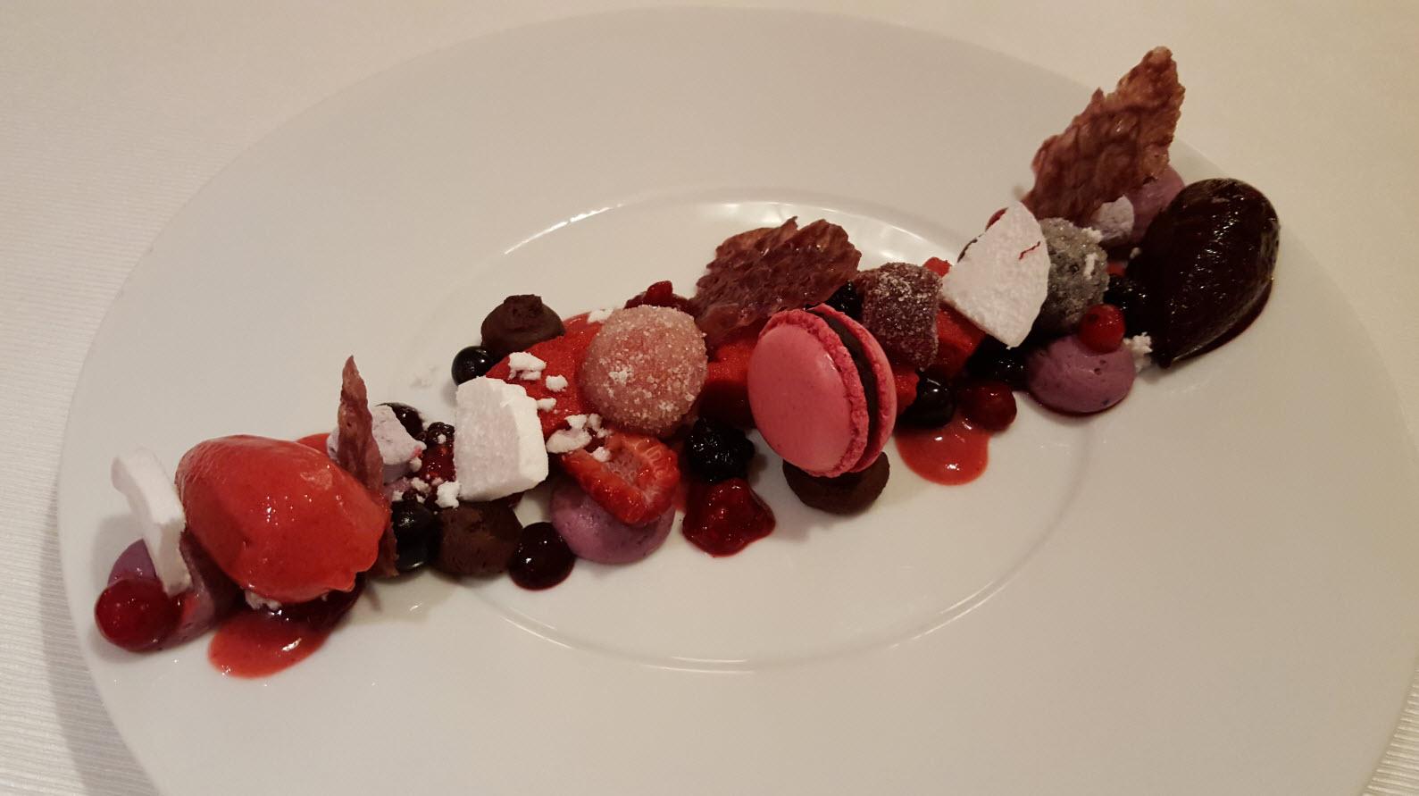 Dessert restaurant Courchevel Moriond