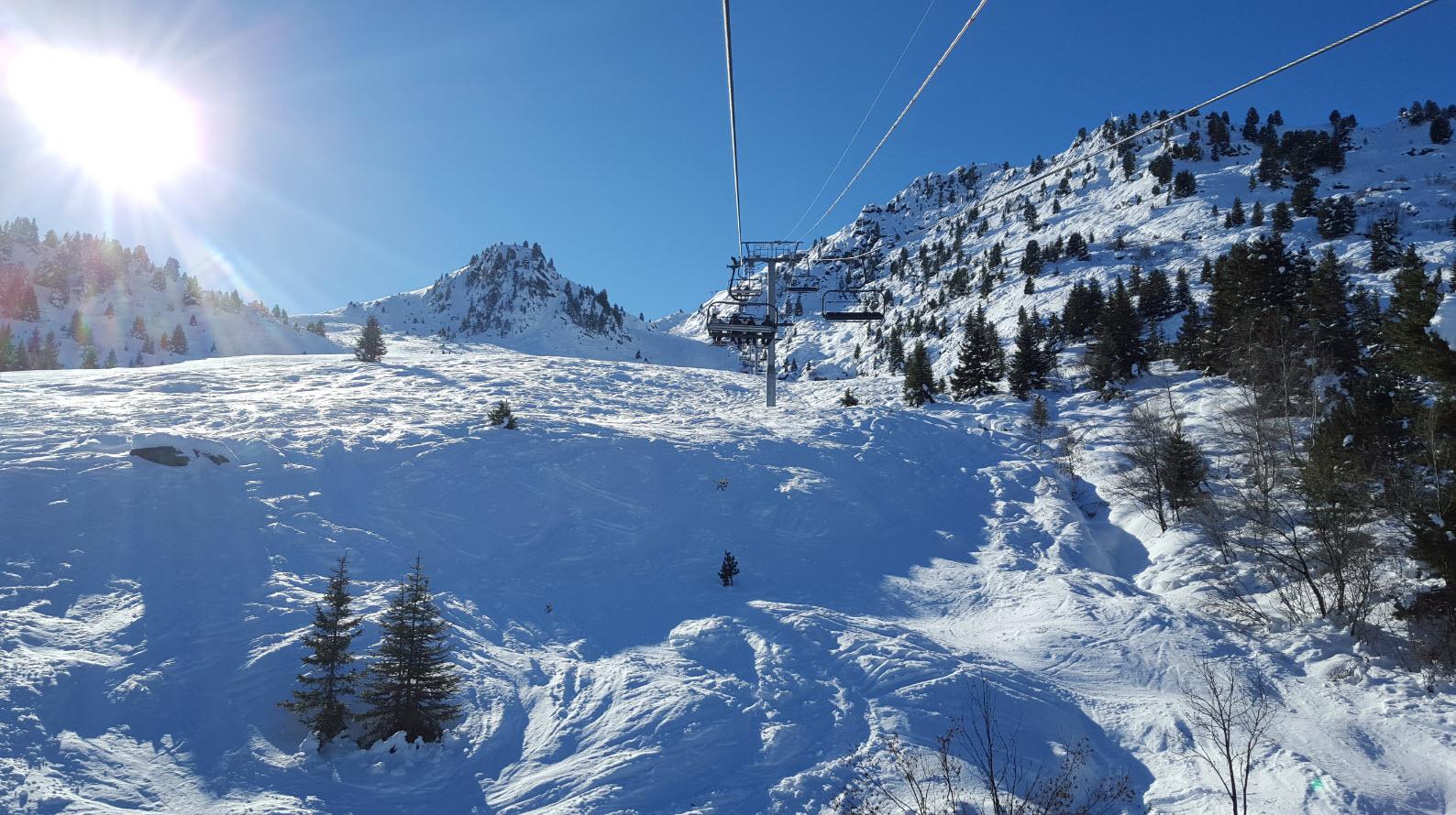 Ski  Courchevel Moriond