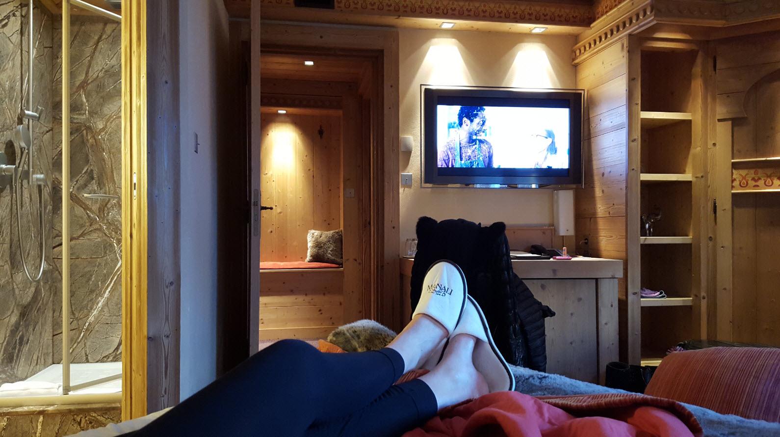 Hotel de luxe à Courchevel