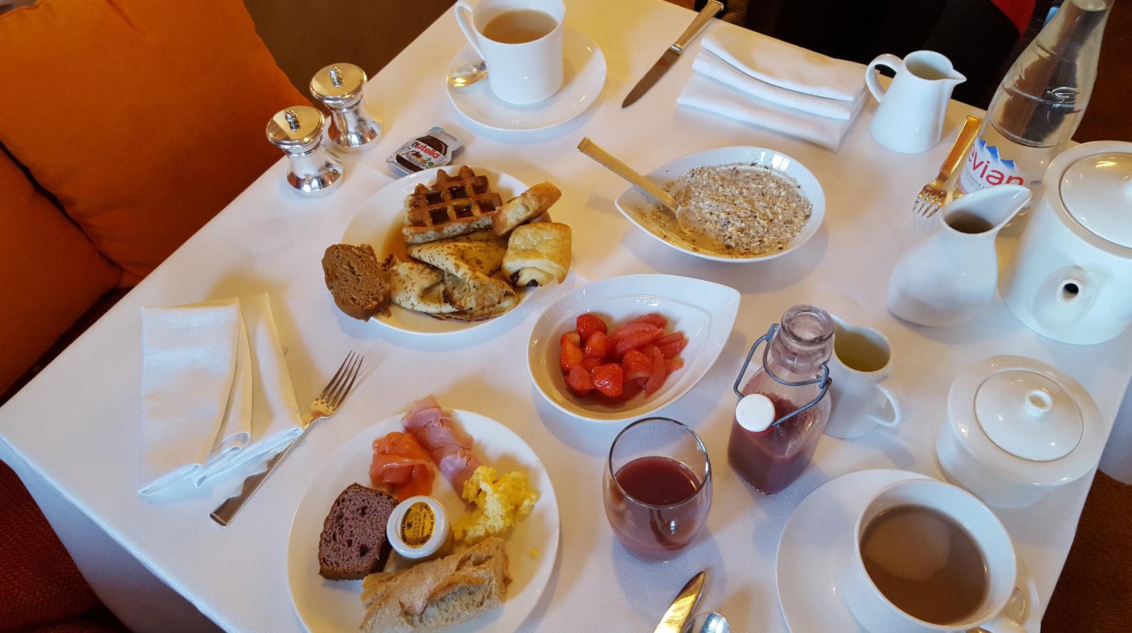 Petit-dejeuner jour 2