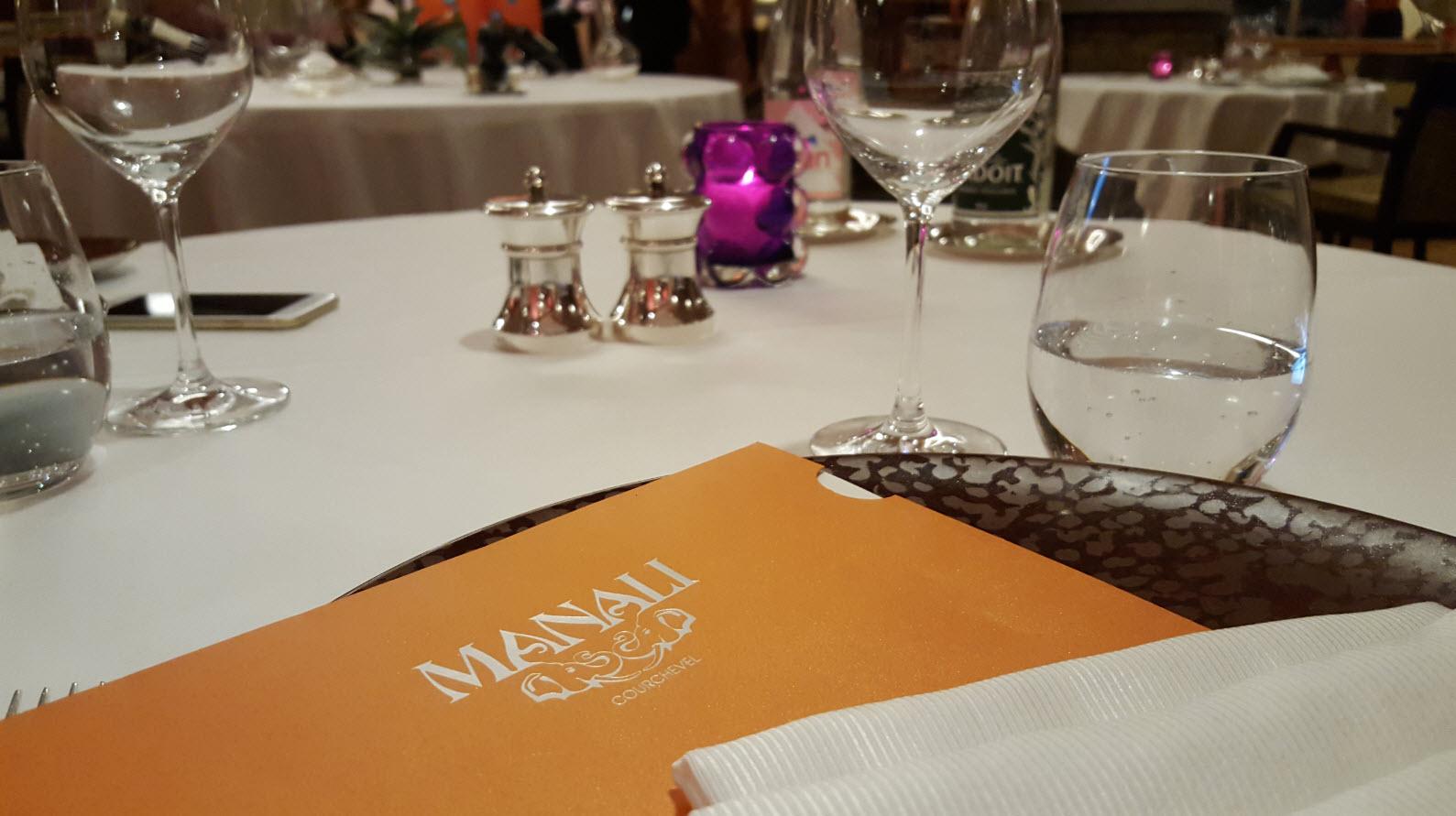 Diner a la Table du Manali