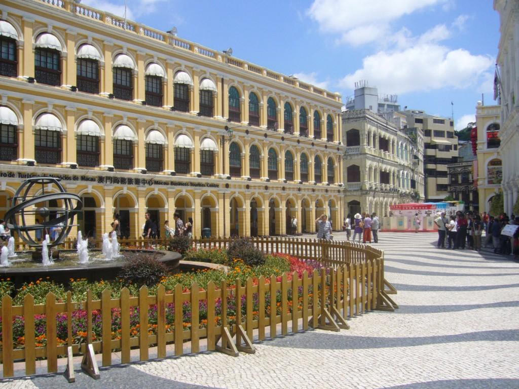 Ressemblance de Macao avec Lisbonne
