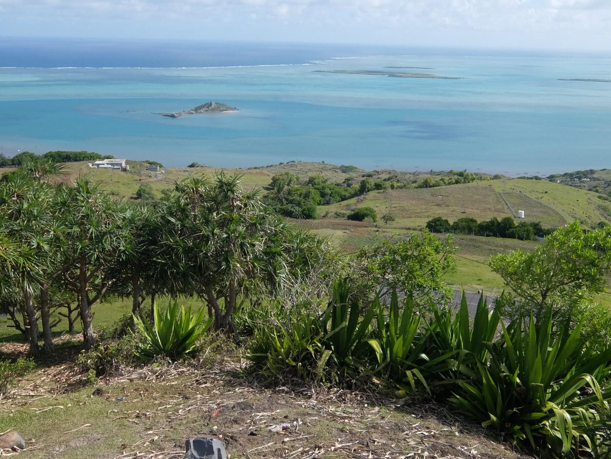 Point de vue sur le lagon