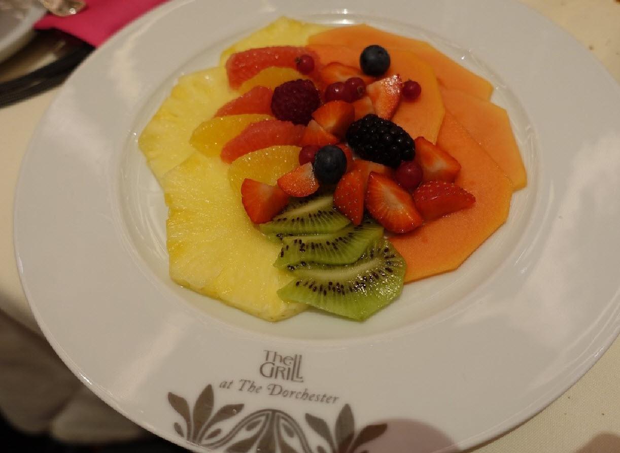 Salade de fruit en dessert
