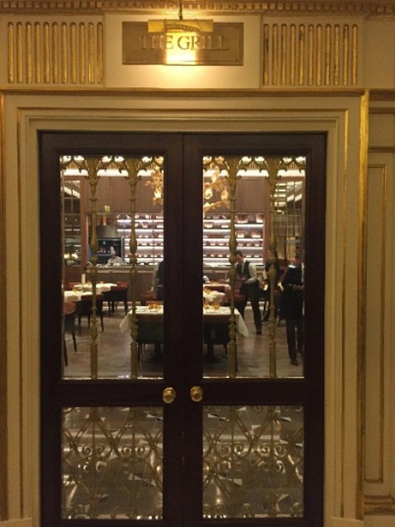 Petit-dejeuner Dorchester hotel de luxe Londres