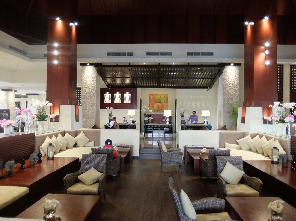 Lobby et reception