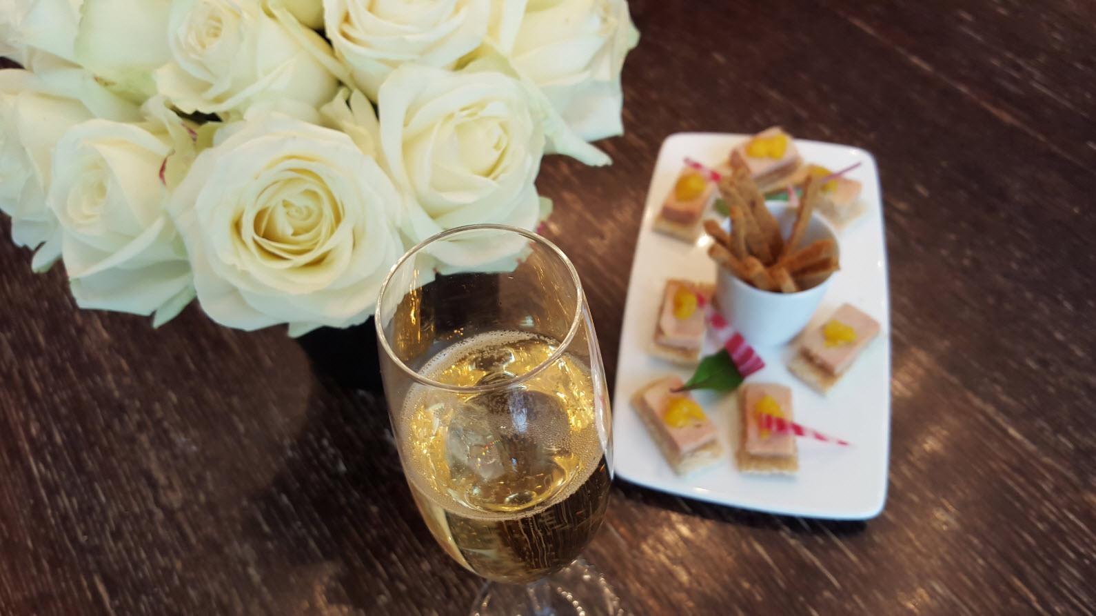 Aperitif au Champagne