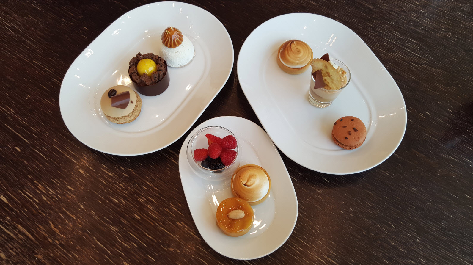 Assortiment dessert brunch Geneve
