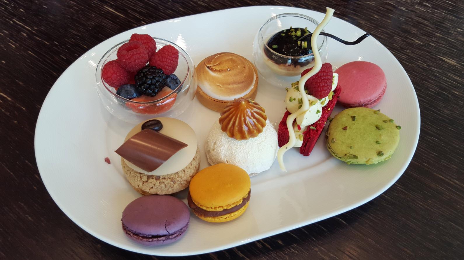 Belle assiette desserts