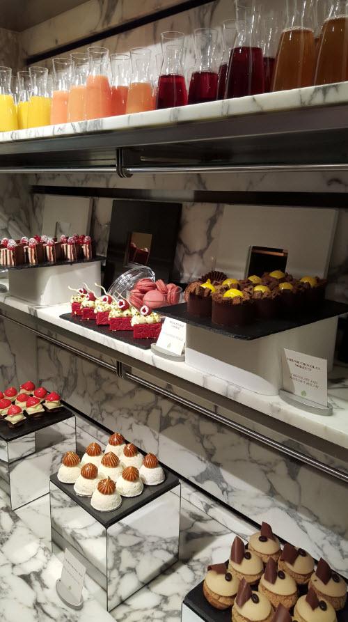 Grand choix de desserts