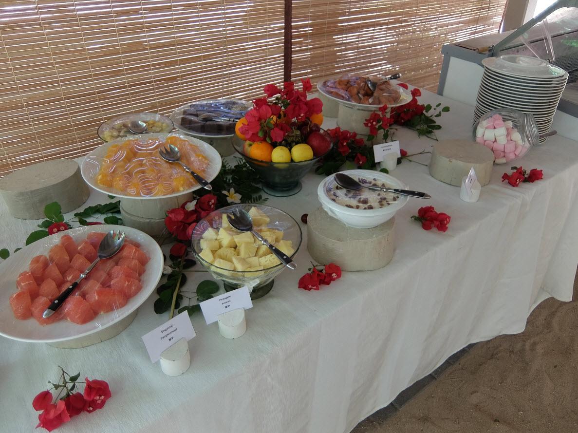 Buffet des dessert