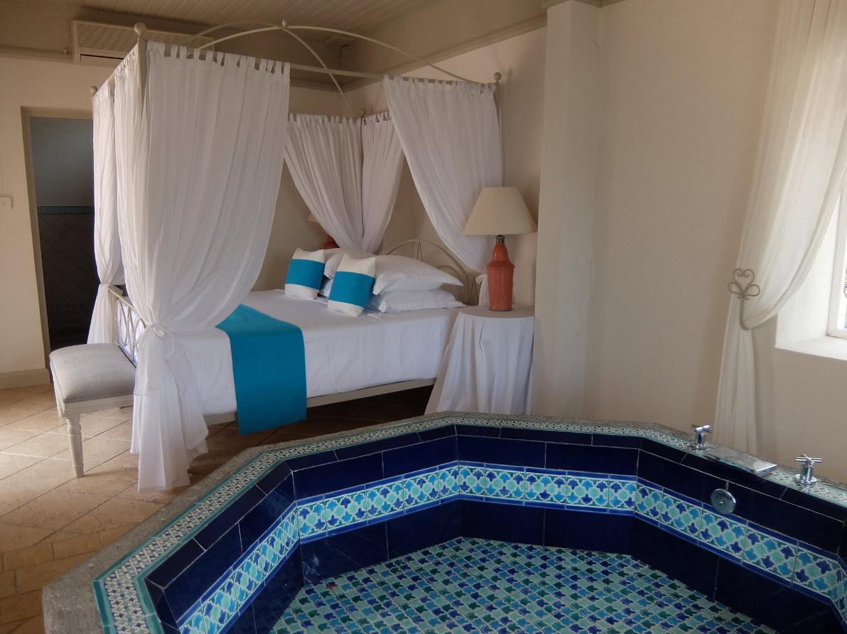 Master bedroom Ile des Deux Cocos Mauritius