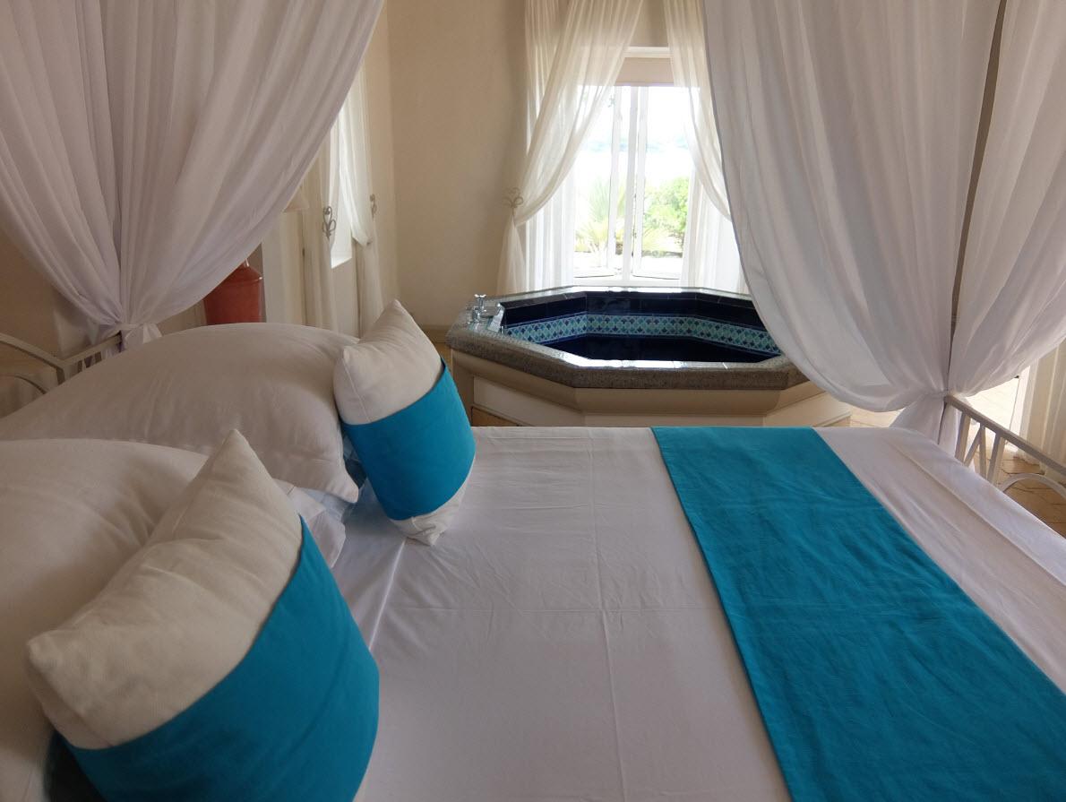Jacuzzi dans master bedroom